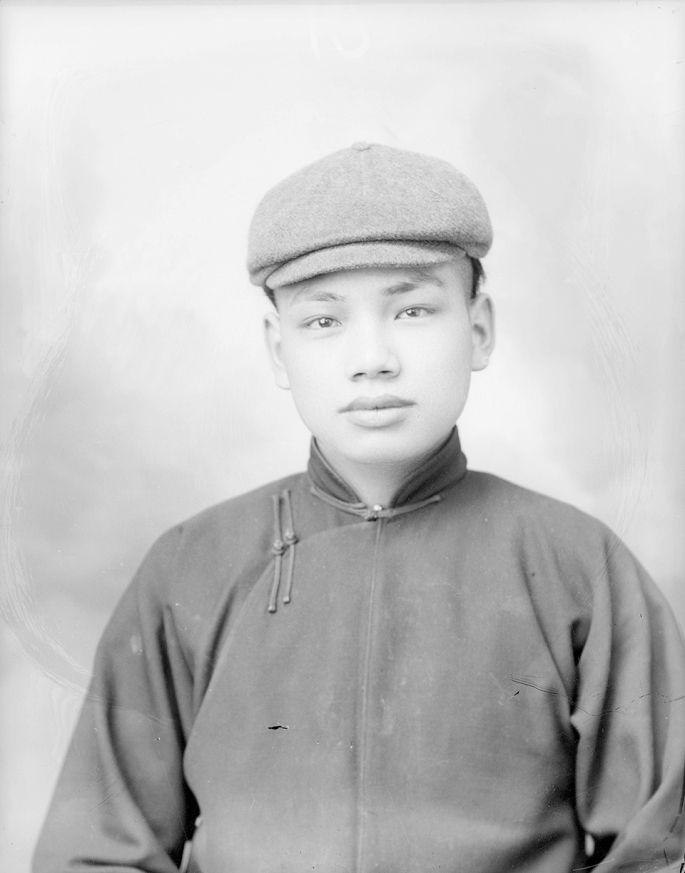 Undefined China boy of early immigrants